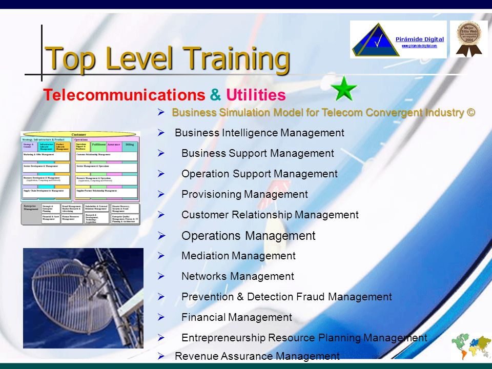 Top Level Training Telecommunications & Utilities