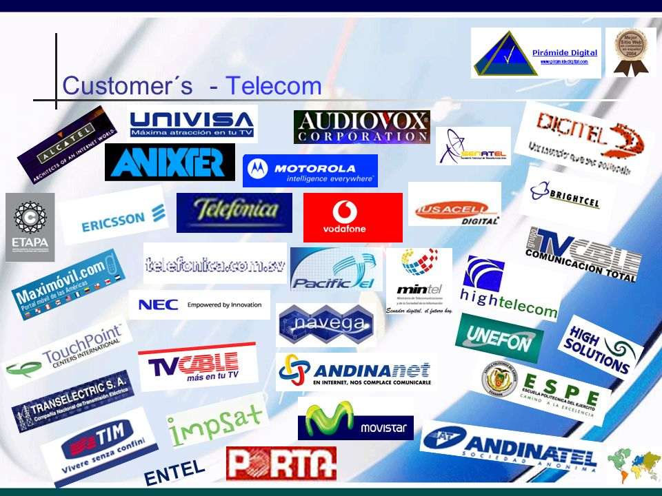 Customer´s - Telecom ENTEL