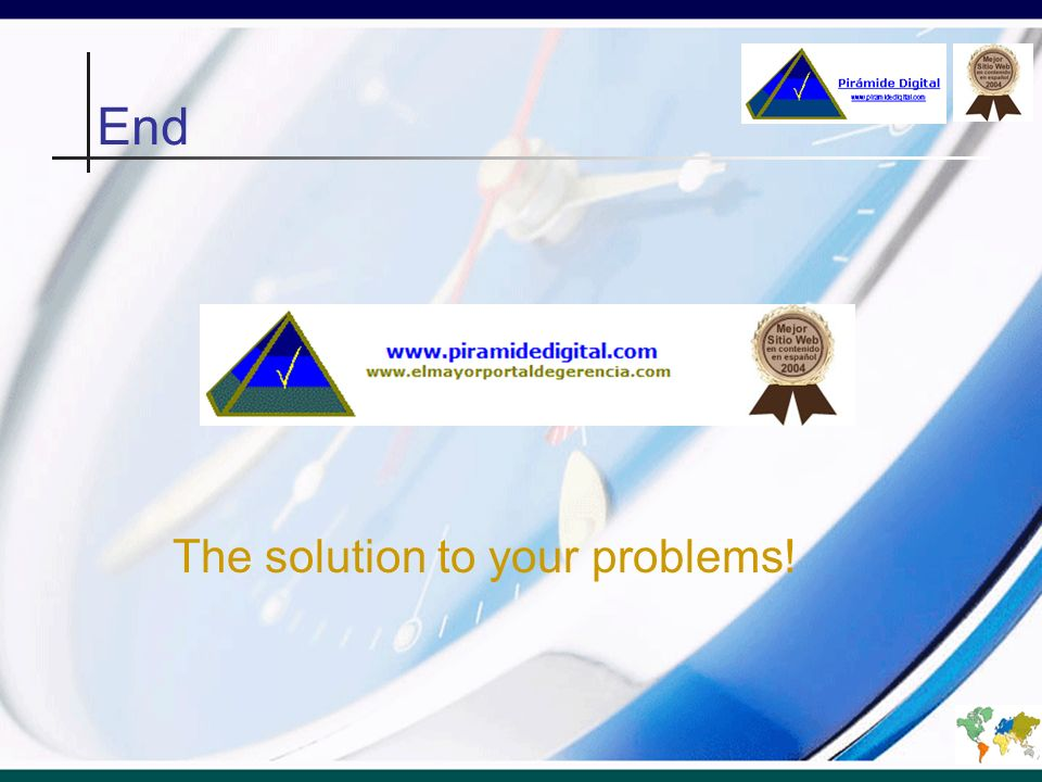 The solution to your problems!