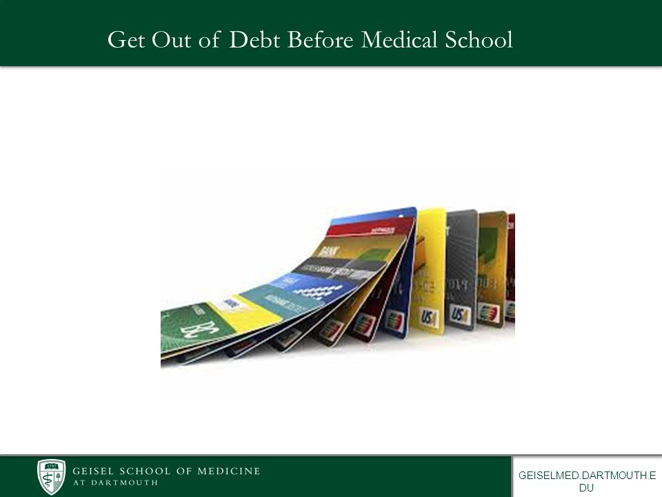 Check it Out! Facebook: Geisel School of Medicine Financial Aid
