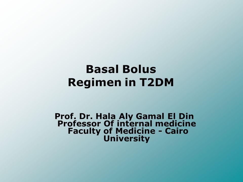 Basal Bolus Regimen in T2DM