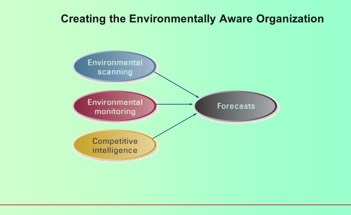 Creating the Environmentally Aware Organization