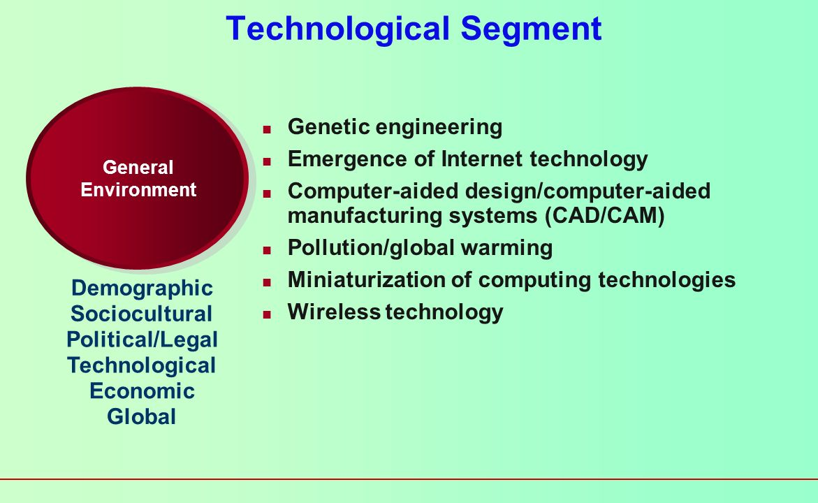 Technological Segment