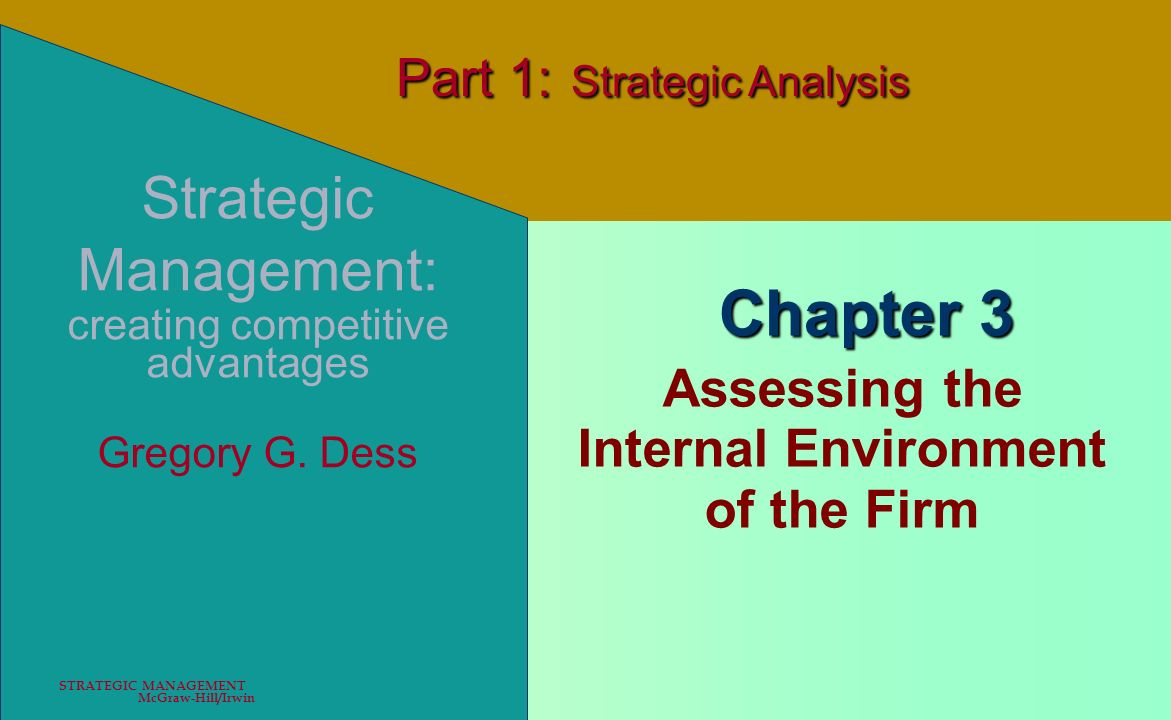 Assessing the Internal Environment of the Firm