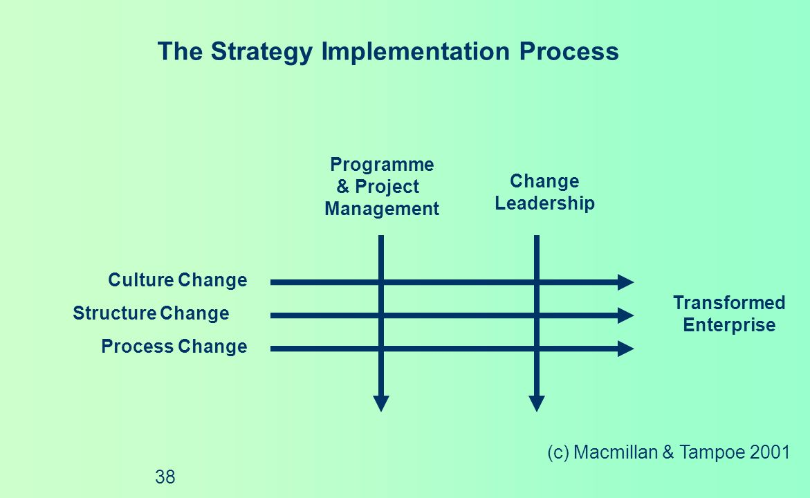 The Strategy Implementation Process