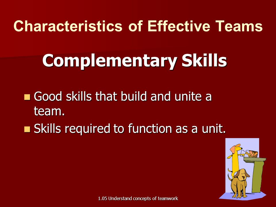 understand the attributes of effective team performance Leadership in teams: a functional approach to understanding leadership structures and processes team performance cycles obtaining an understanding of team leadership processes requires one to first understand the nature of team functioning.