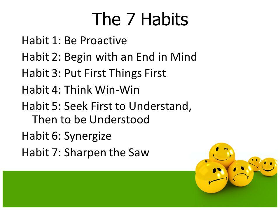 The 7 Habits