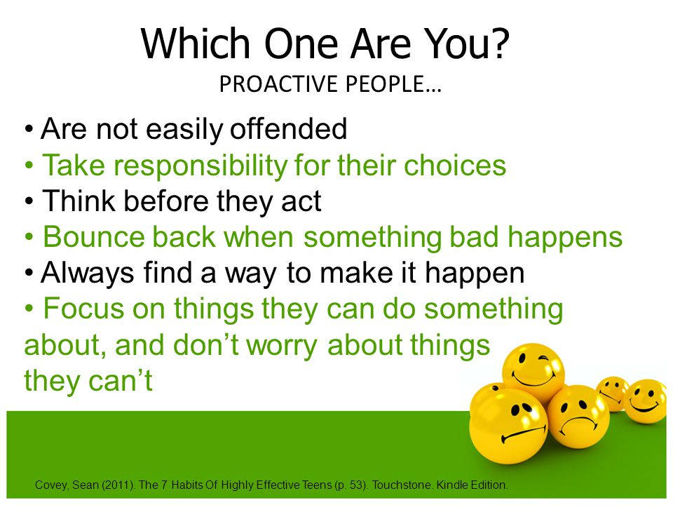 Which One Are You • Are not easily offended