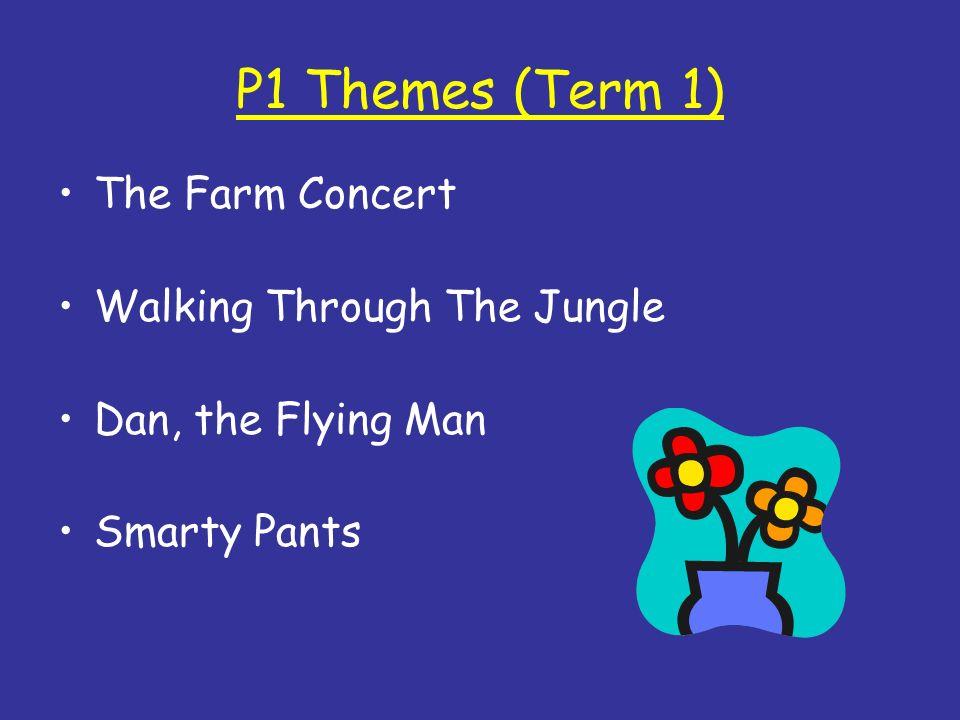 P1 Themes (Term 1) The Farm Concert Walking Through The Jungle