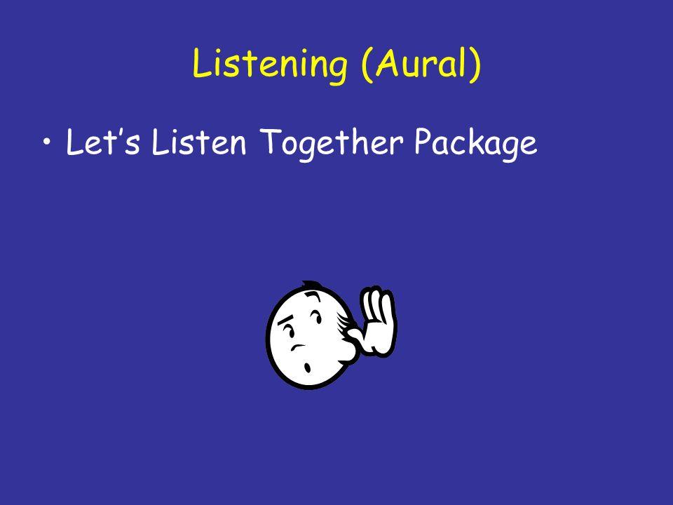 Listening (Aural) Let's Listen Together Package