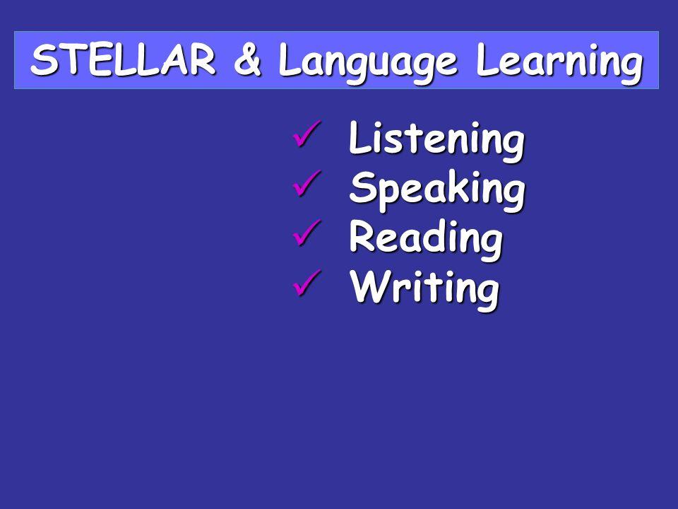 STELLAR & Language Learning