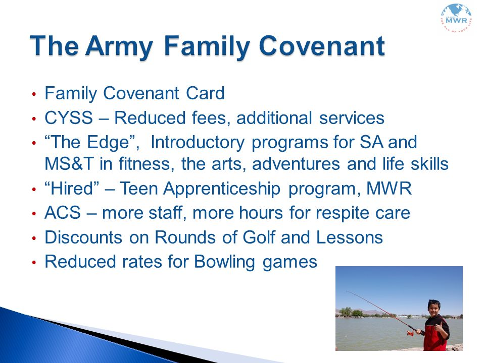 The Army Family Covenant