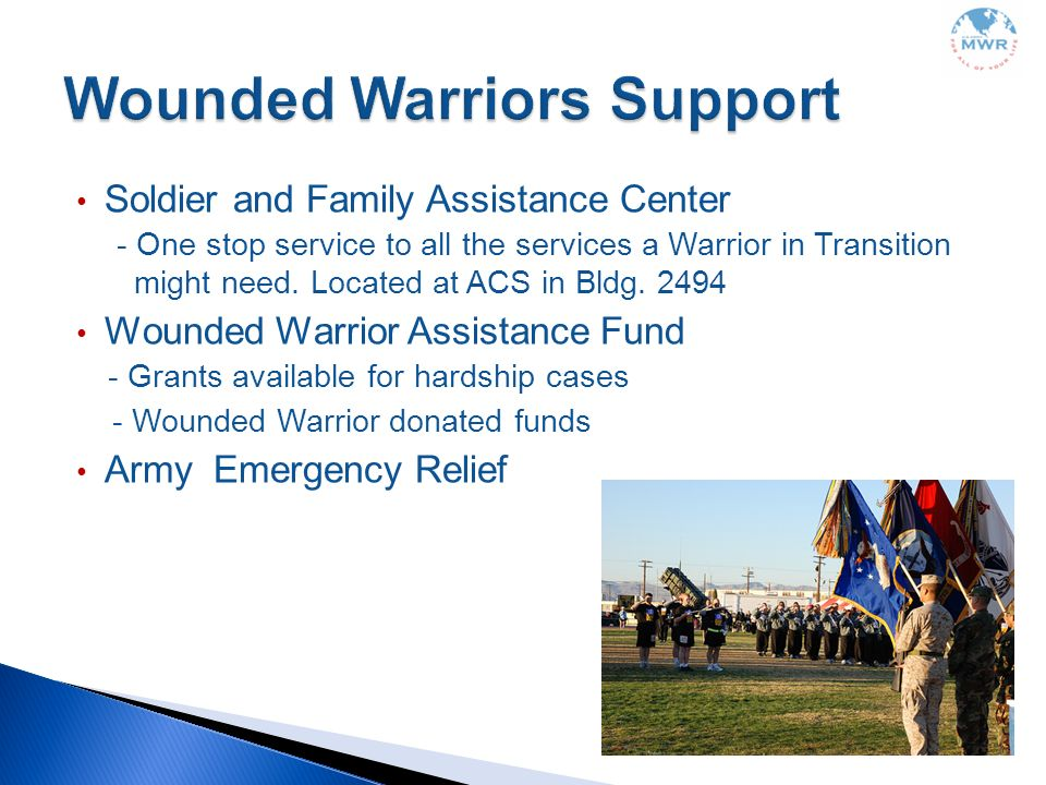 Wounded Warriors Support