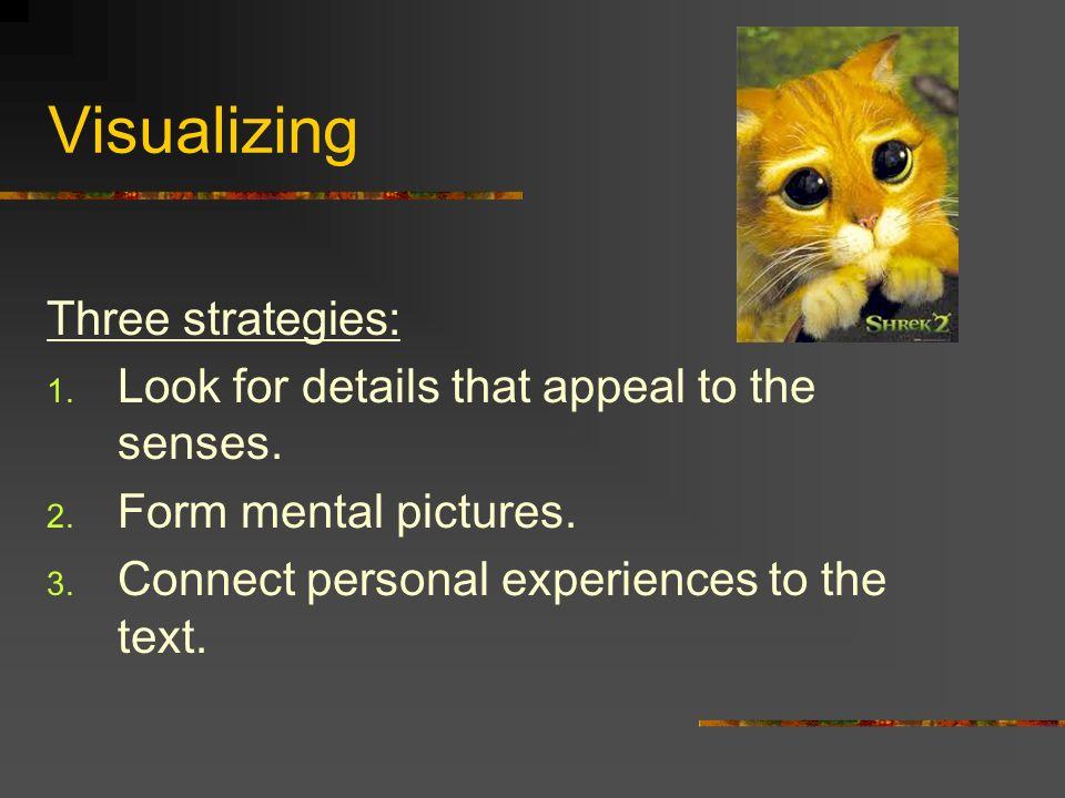 Visualizing Three strategies: