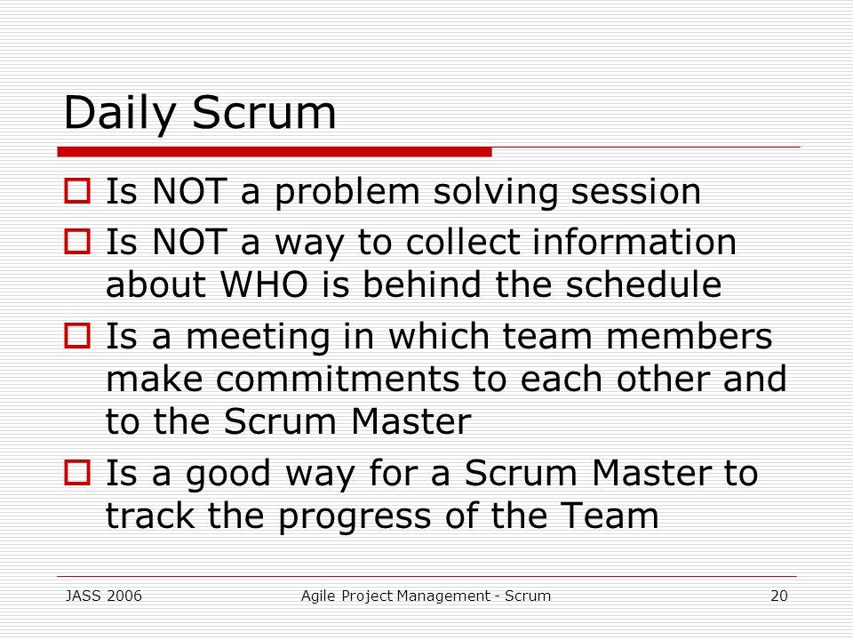 Agile Project Management - Scrum