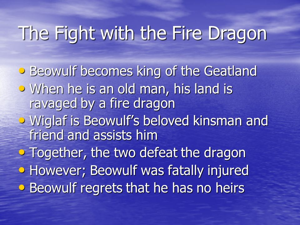 The Fight with the Fire Dragon