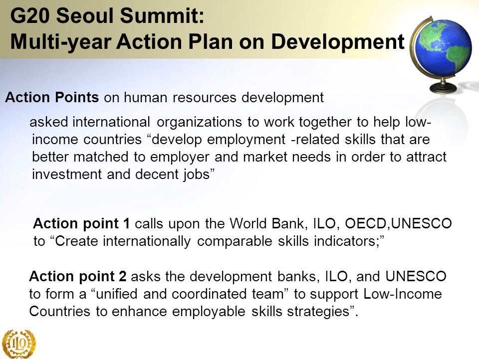 G20 Seoul Summit: Multi-year Action Plan on Development