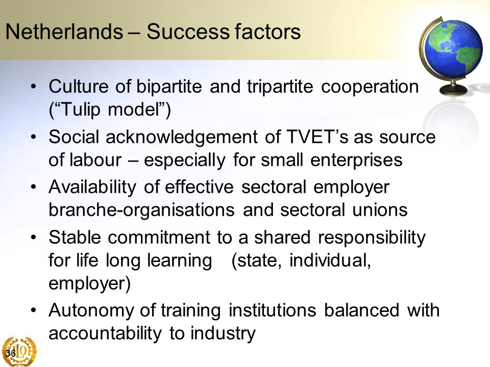 Netherlands – Success factors
