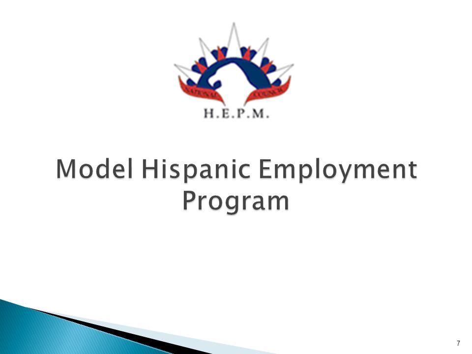 Model Hispanic Employment Program