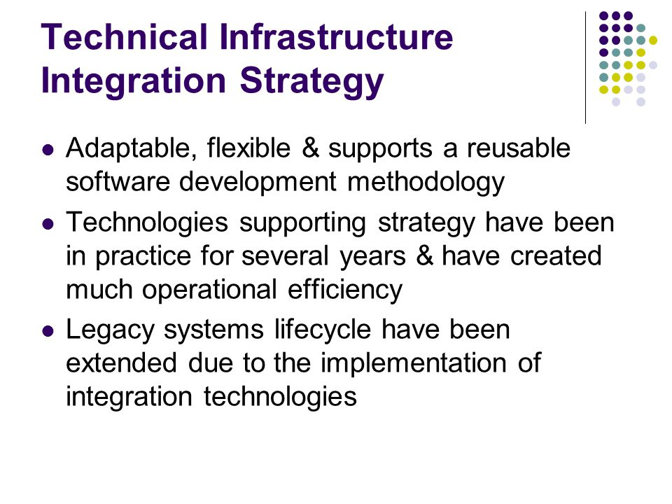 Technical Infrastructure Integration Strategy