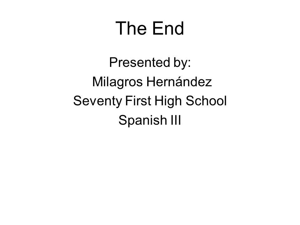 Seventy First High School
