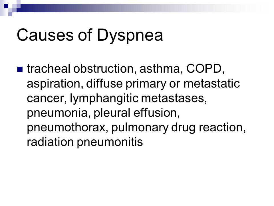 Causes of Dyspnea