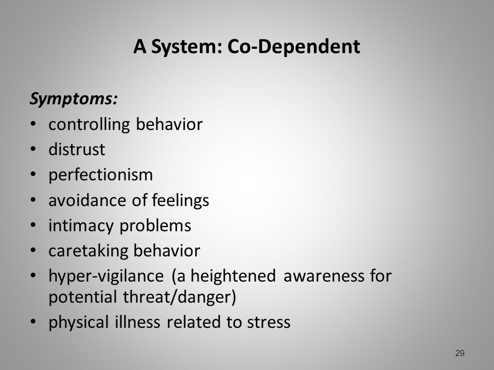 A System: Co-Dependent