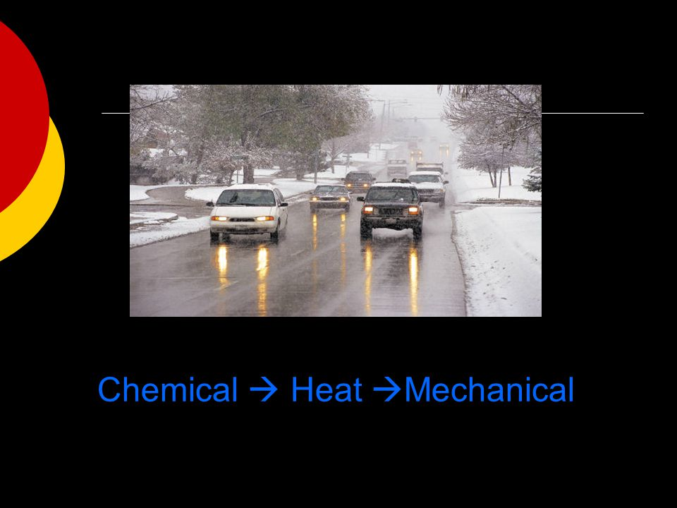 Chemical  Heat Mechanical
