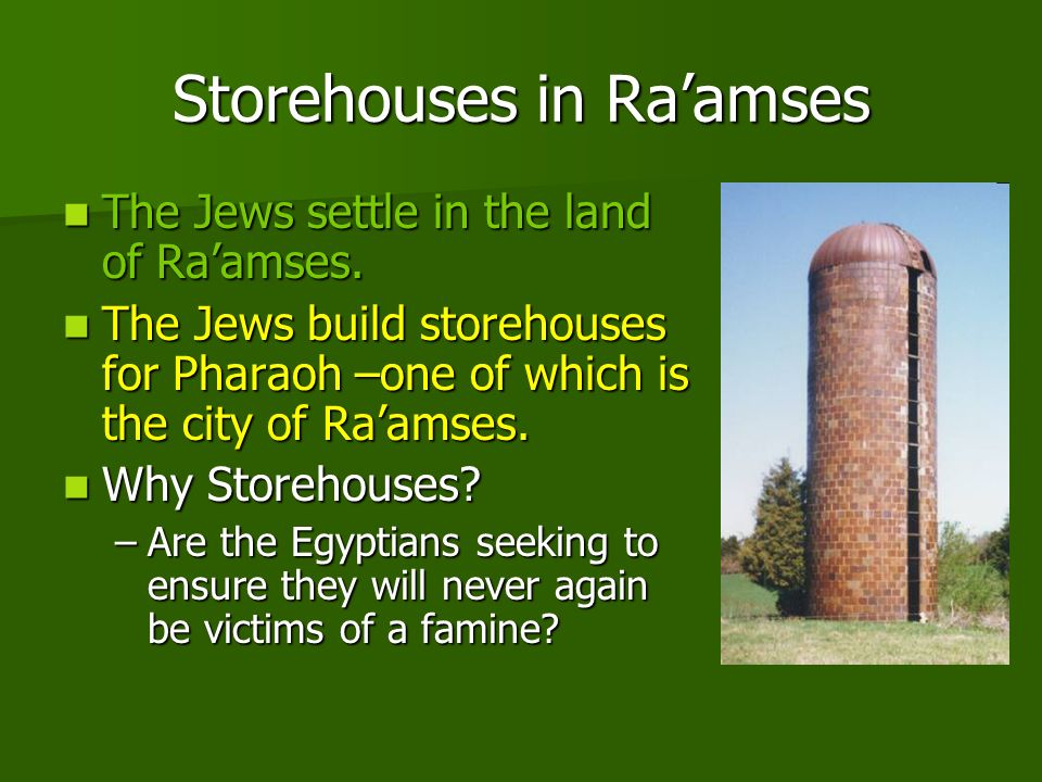 Storehouses in Ra'amses
