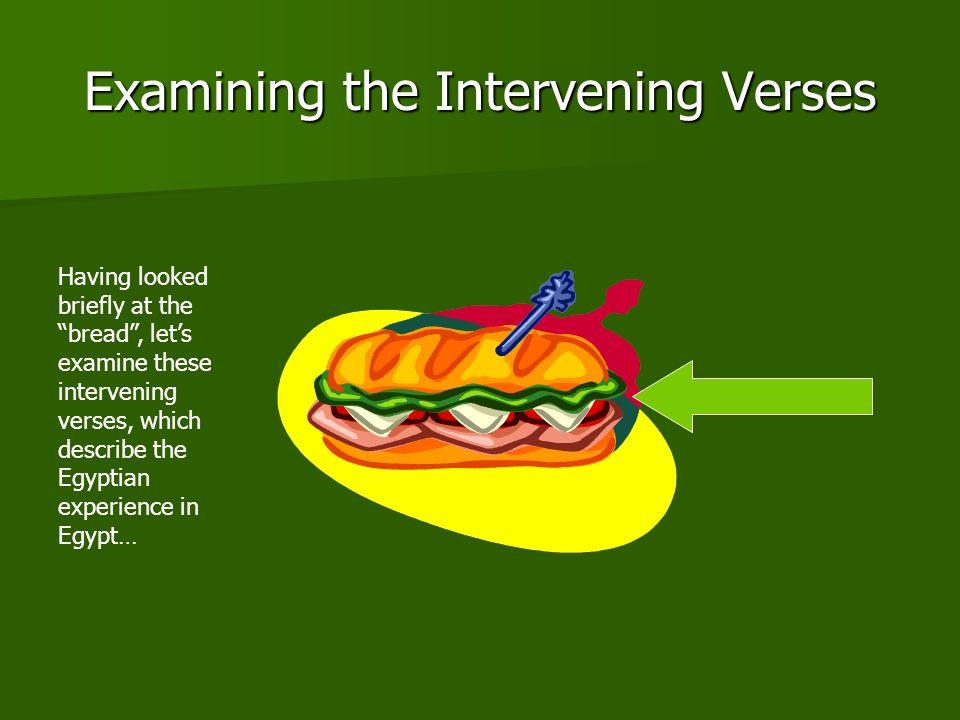Examining the Intervening Verses