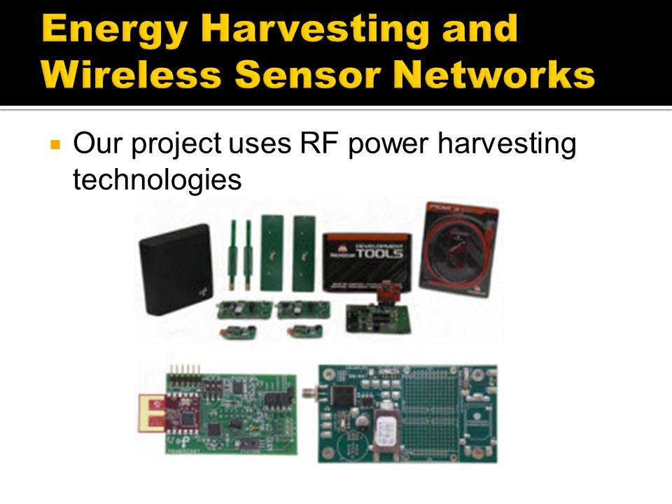 Energy Harvesting and Wireless Sensor Networks