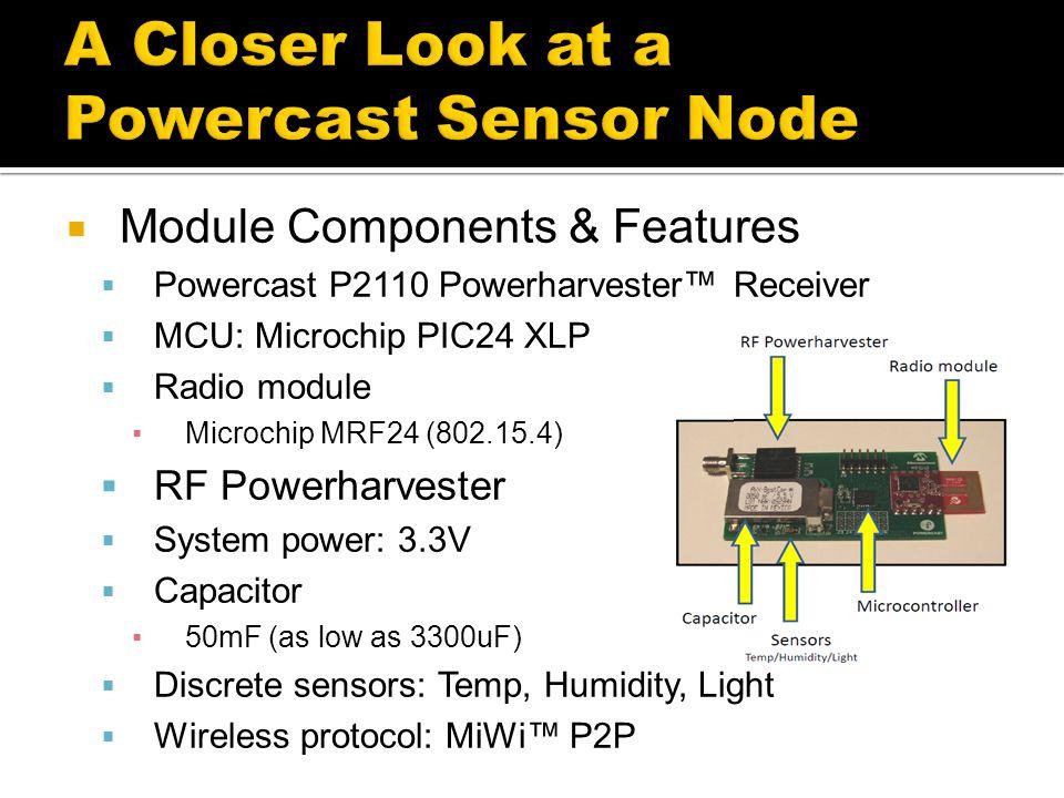 A Closer Look at a Powercast Sensor Node