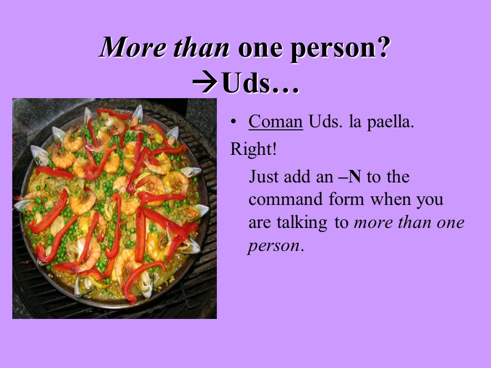 More than one person Uds…
