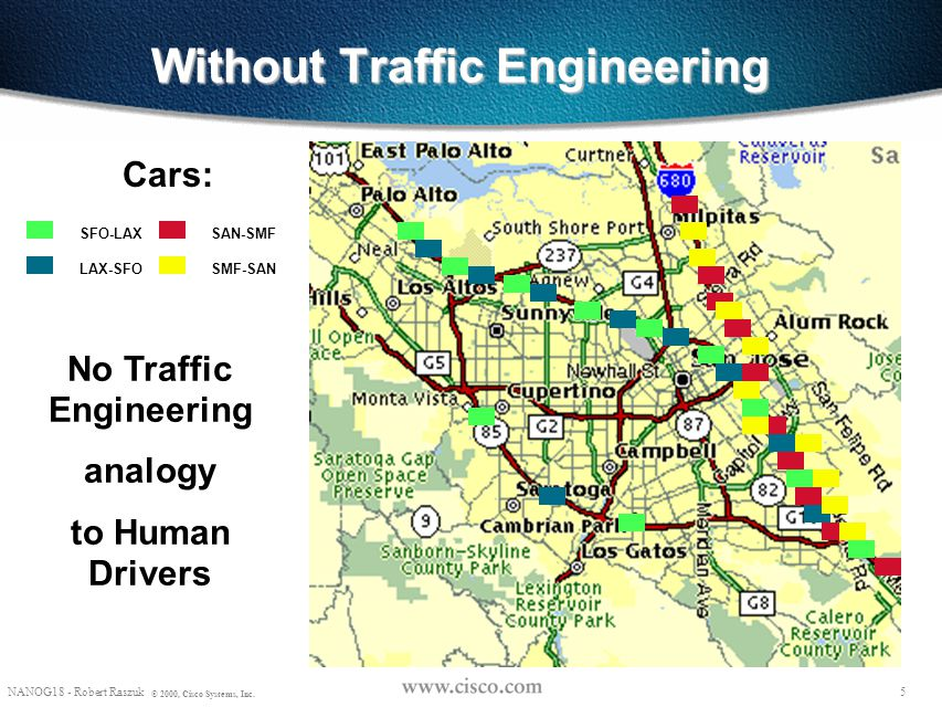 Without Traffic Engineering