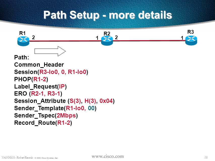 Path Setup - more details