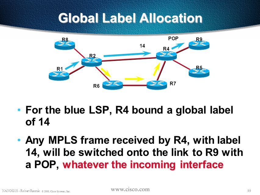 Global Label Allocation