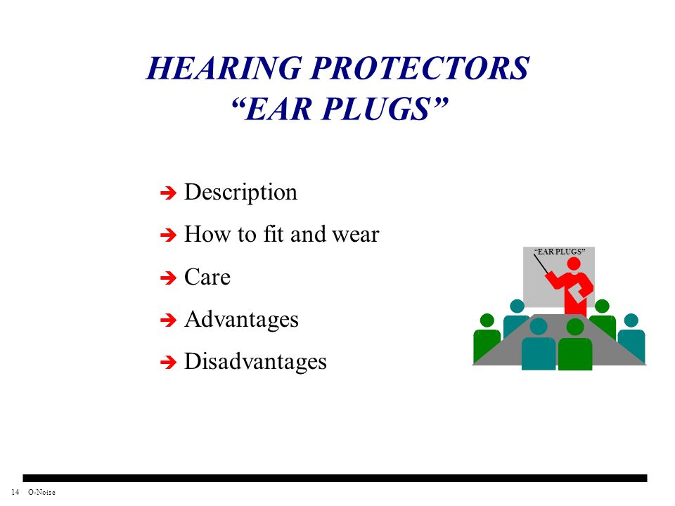 HEARING PROTECTORS EAR PLUGS