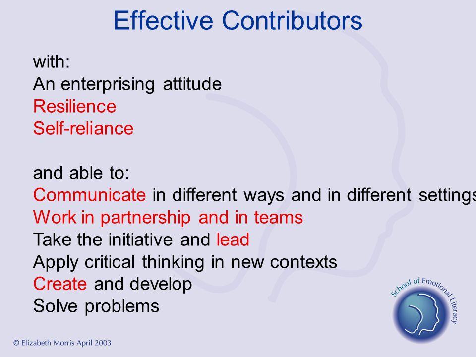 Effective Contributors