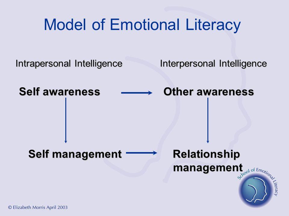 Model of Emotional Literacy