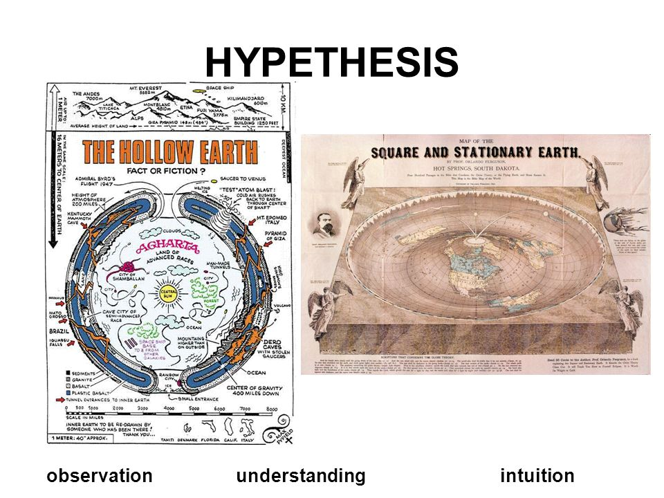 HYPETHESIS observation understanding intuition