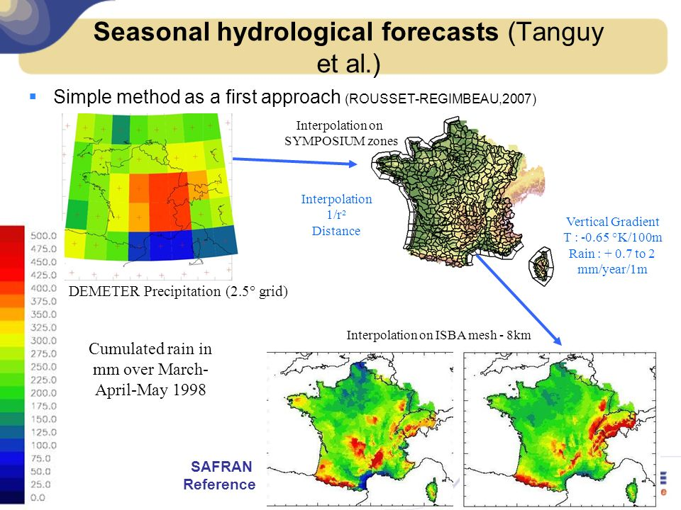 Seasonal hydrological forecasts (Tanguy et al.)