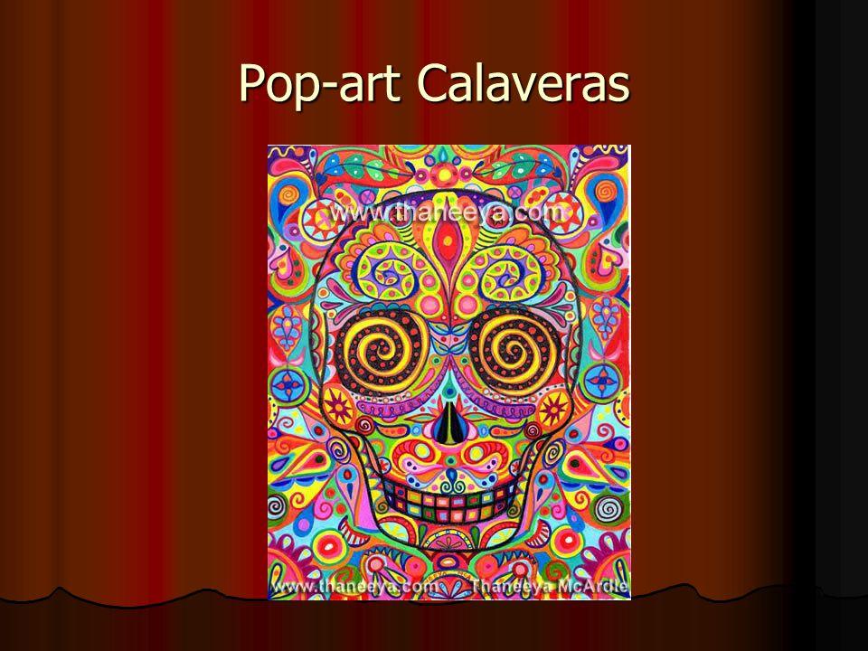 Pop-art Calaveras