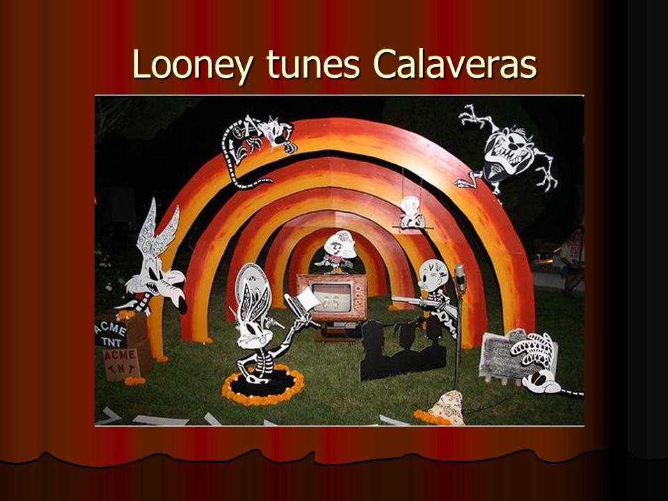 Looney tunes Calaveras
