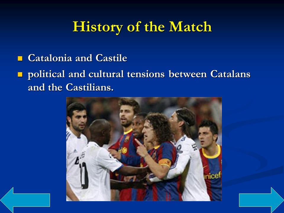 History of the Match Catalonia and Castile