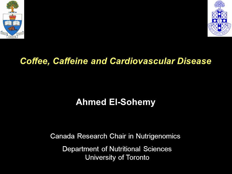 Coffee, Caffeine and Cardiovascular Disease