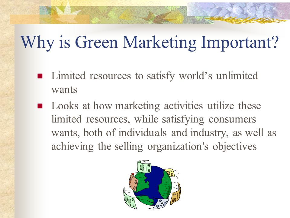 Why is Green Marketing Important