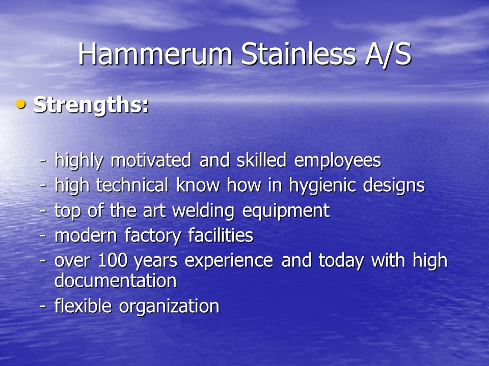 Hammerum Stainless A/S