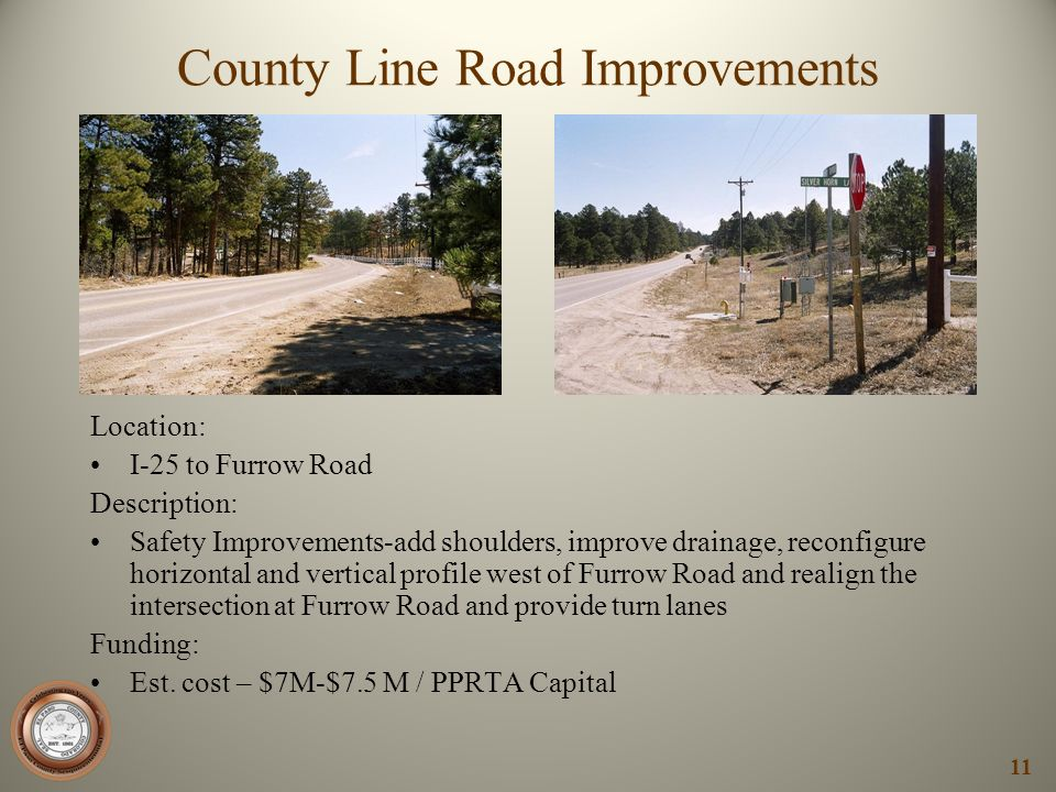 County Line Road Improvements