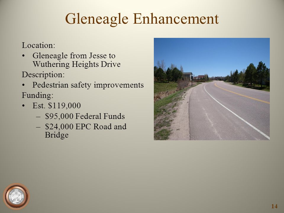 Gleneagle Enhancement