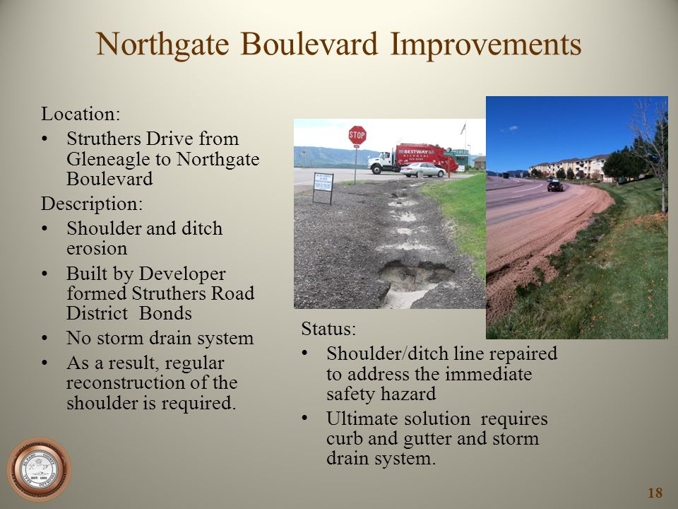 Northgate Boulevard Improvements